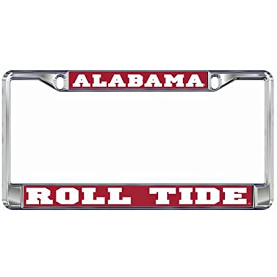 Alabama Crimson Tide Domed Metal License Plate Frame: Automotive