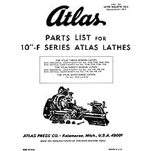 "Atlas 10"" Lathe Parts Manual"