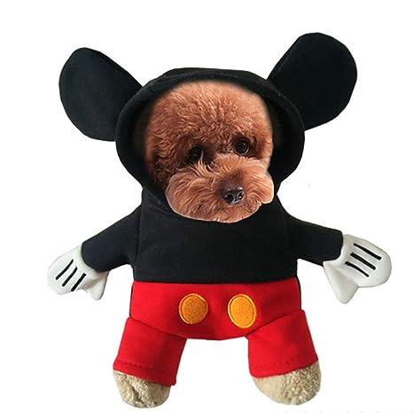 Topelec-Pet - Disfraz de Perro o Gato para Mascotas, para Disfraces, Navidad