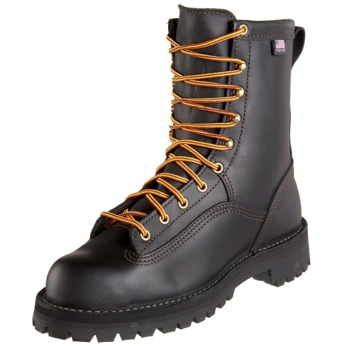 Image of the Danner Men's Rain Forest Uninsulated Work Boot,Black,10 D US