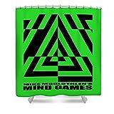 Pixels Shower Curtain (74'' x 71'') ''Mind Games 21se''