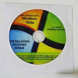 Windows Vista 32 Bit 64 Bit All Version Home Premium Business Home Basic Starter Ultimate System Restore Full Install Recovery Reinstall Repair Disc
