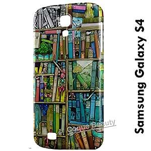 Carcasa Funda Galaxy S4 Painted Library Protectora Case Cover