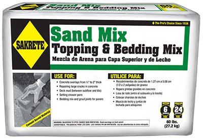 SAKRETE of North America 65306217 Sand Mix, 60 lb