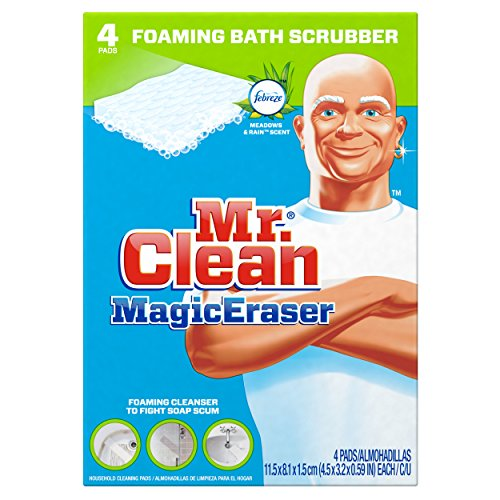 mr clean scrubber - 1