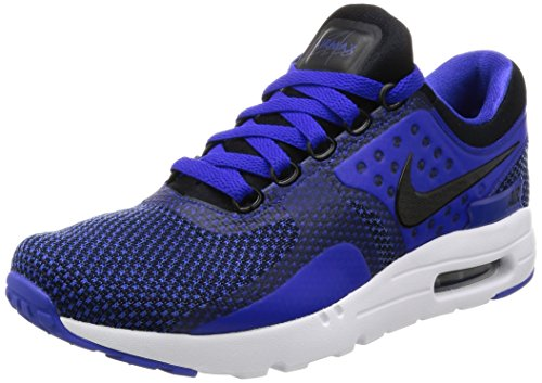 Nike Air Max Zero Essential Men's Shoes Black/Blue/White 876070-001 (11 D(M) US) (Mens Nike Air Max 90 Ultra 2-0 Flyknit)