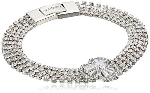 Carolee Something Borrowed Flex Bracelet - Carolee Floral Bracelet