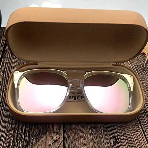 KLXEB Sonnenbrillen, Sonnenbrillen, Anti Uv-Brille Und Sonnenschutz Gläser Im Sommer, Light Pink