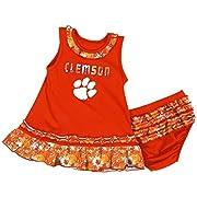 Colosseum Clemson University Tigers Infant Fountain Dress Set (3-6 M)