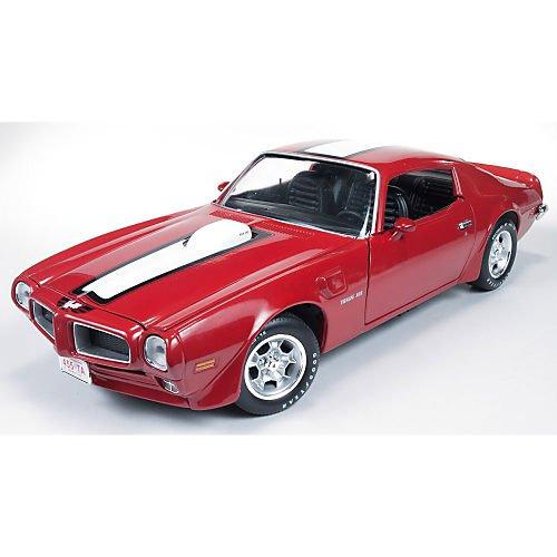 1972 Pontiac Firebird Trans Am [American Muscle 998], Rot / Weiß, 1:18 Die Cast