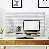 Philiphome Dust Resistant Television Protector a Note Book Laptop Glasses Mouse Vintage Compass Coffee Cup Pen tv dust Cover W35 x H55 INCH/TV 60''