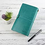 Leather Journal for Women, Refillable Travelers