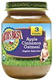 Earth's Best Organic Stage 3, Apple, Cinnamon & Oatmeal, 6 Ounce Jar (Pack of 12)