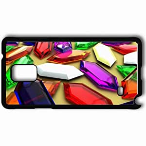 Personalized Samsung Note 4 Cell phone Case/Cover Skin 3200 Rupee Jackpot Black