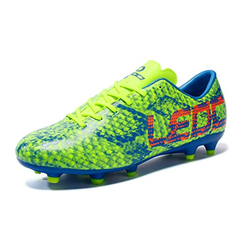 Shoes boy Leoci Men Trainers Shoes Cleats Soccer Green SportsFootball and Athletic Turf vEAwFwqxRU