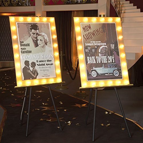 Classic Cinema Movie Posters Kit (set of 2) - 5'10'' High x 2'10'' Wide x 2' Deep