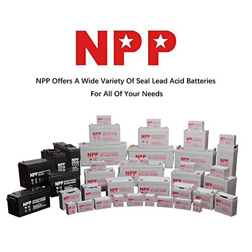NPP NPD12-200Ah Rechargeable Deep Cycle 4D SLA 12V 200Ah Battery with Button Style Terminals by NPP (Image #4)