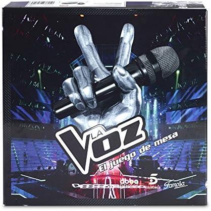 Famosa - La Voz, Juego de Mesa para Adultos (700013340): Amazon.es: Juguetes y juegos