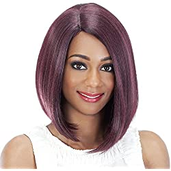 Vivica A Fox Hair Collection Shiny New Futura Hair in Color Pure Stretch Cap Wig, P27/30/33, 4.52 Ounce