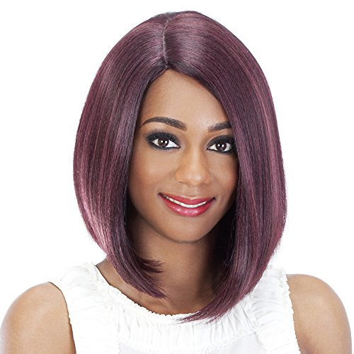 Vivica A Fox Hair Collection Shiny New Futura Hair in Color Pure Stretch Cap Wig, 1, 4.52 Ounce