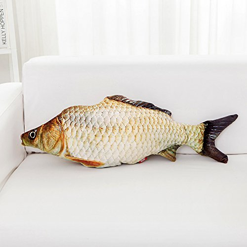 BAONZEN Lindo Animal Almohada Almohada de Pescado ...