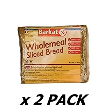 Amazon.com: Barkat wholemeal Pan – 500 g (paquete de 2 ...