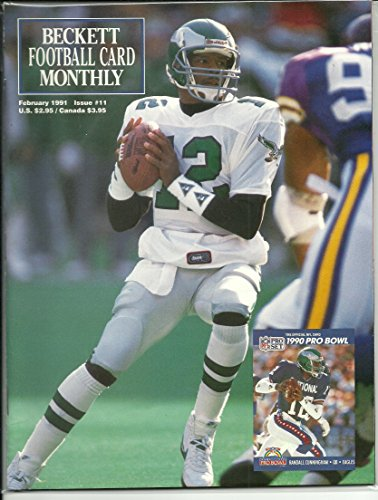Beckett Cover Football (Beckett Football Card Magazine Feb 1991 (Front cover featuring Randall Cunningham, Vol. 3, No. 2 Issue #11))