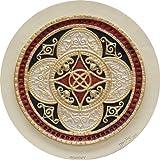 Celtic Ring of Prosperity - Cast Paper - Celtic Blessing - Irish art - Celtic art - Scottish art - Irish gift - good luck - Ireland - unique realtor gift