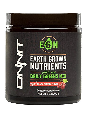 Onnit Earth Grown Nutrients | Organic Superfoods Supplement with Key Micronutrients and (Purple Corn Extract Powder)