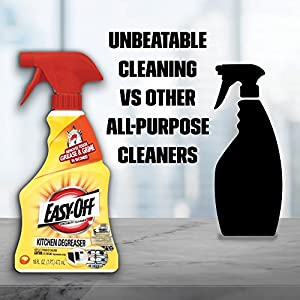 Easy-Off Kitchen Degreaser - unbeatable
