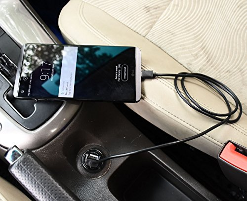 Samsung Galaxy Edge Plus Car Charger,Alimu Rapid Adapter 5,HTC One M8 A9,LG with