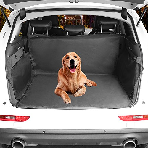 Cargo Liner Cover  Beauty Star Pet Seat Cover For Suvs And Cars Trunk Waterproof Material Dog Pet Scratch Proof Muddy Stuff Protect Cover Easy Install Nonslip Mat  Black