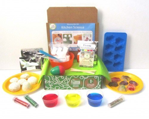 Green Kid Crafts, Kitchen Science Discovery Box