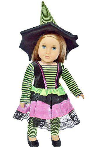 My Brittany's Witch Halloween Costume for American Girl Dolls (Witch Girl Costume)