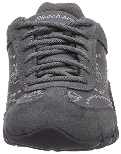Skechers Speedsters - zapatilla deportiva de material sintético mujer gris - Grau (CHAR)