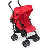 Kinderwagon - Skip Umbrella Stroller - Red