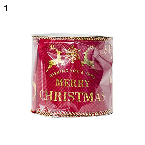 Lilac Cummerbund (dezirZJjx Christmas Bowknot, Christmas Elk Colored Ribbons Xmas Tree Party Gift Decorative Satin Ornaments - BronzingDeer)