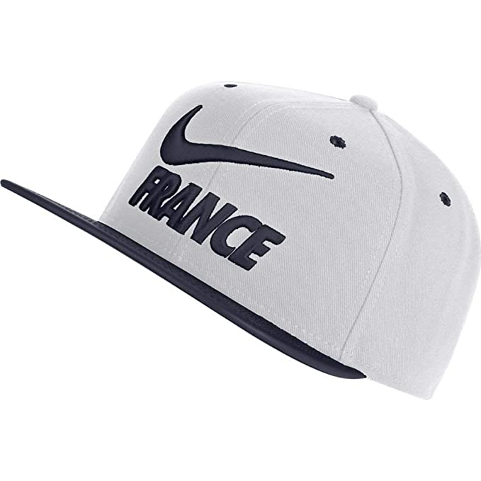fec6a00a3b2 Image Unavailable. Image not available for. Color  NIKE France 2018 Pro Hat  - White