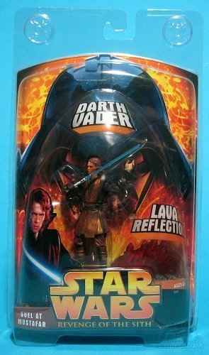 Star Wars Revenge Of The Sith Lava Reflection Darth Vader Anakin Skywalker Duel At Mustafar Target Exclusive Amazon Co Uk Toys Games