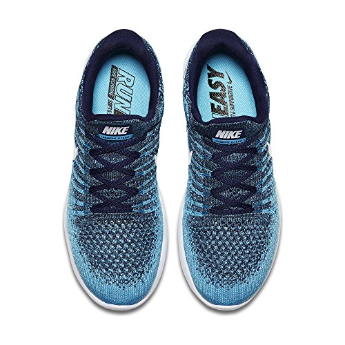 Binary Polarized Low Shoe Flyknit White Womens 2 Running NIKE 0 9 LunarEpic Blue Blue qvAgxw0R