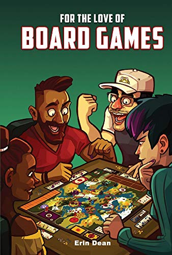 For the Love of Board Games - Book Game Board