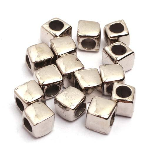 Square Spacer Beads - 9