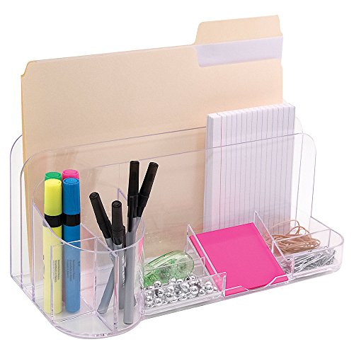 Innovative Storage Designs Desktop Organizer, 9 Compartments, (9 Compartment Desk)