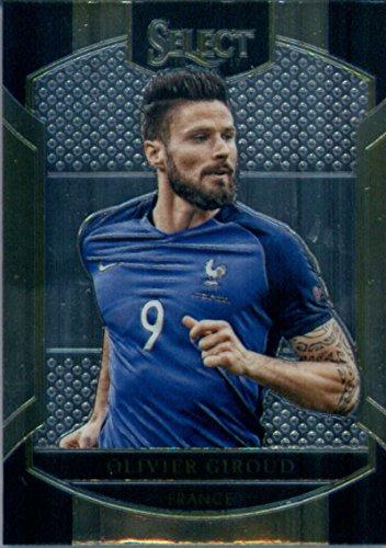 2016 Panini Select #90 Olivier Giroud France Soccer Card