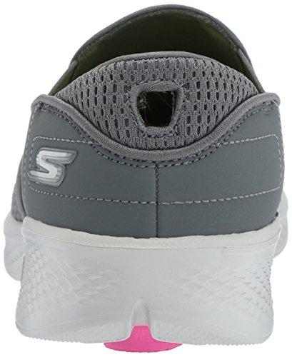 Skechers Vrouwen Ga Een Eindje Wandelen 4-afgestemd Sneaker Houtskool