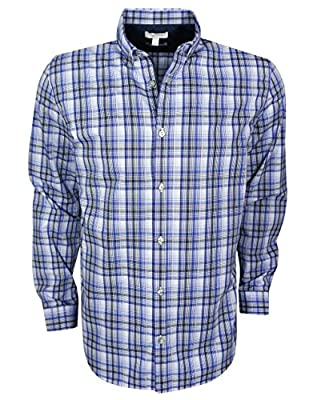 Calvin Klein- Long Sleeve Infinite Cool Twill Plaid Shirt