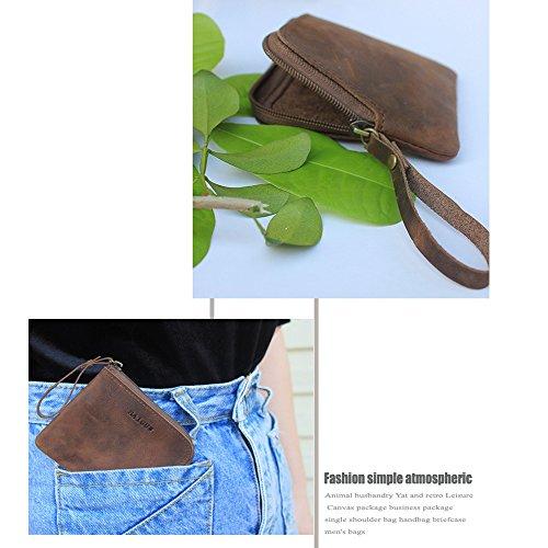 Porte Durable Monnaie d'argent Clip Lovely rabbit Cuir Mini Porte Court Embrayage Classique Lady Carte Vrai Zipper 8z5Hznx6