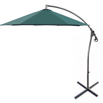 1ebf2c41 XCF WLQ Outdoor Parasol - Sombrilla de Jardín Outdoor Banana Umbrella Fold  Rome Sombrilla de Playa