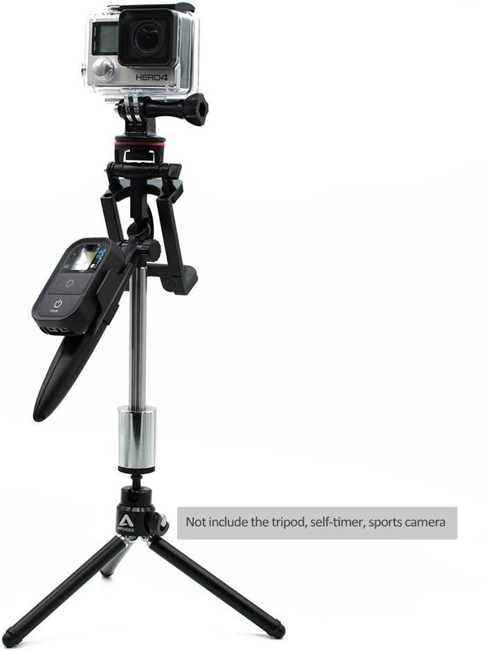 HuntGold Video Gimbal Stabilizer Handheld Grip for G0pro hero5//4 Smart Phone Sports Camera Camcorder