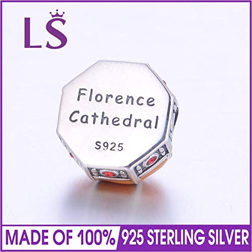 Calvas LS Statement Bracelet Florence Cathedral Charms for DIY Gift Fashionable Jewelry DIY Fashion Jewelry